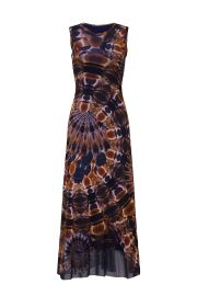 Sleeveless Tie Dye Dress by Fuzzi at Rent The Runway