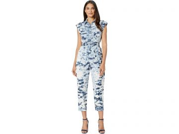 Sleeveless Tie-Dye Jumpsuit by Rebecca Taylor at Zappos