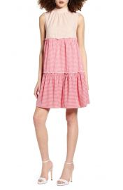 Sleeveless Tiered Shift Dress at Nordstrom