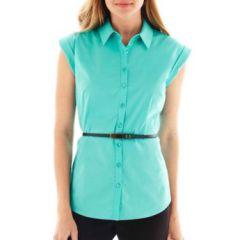 Sleeveless shirt at JC Penney