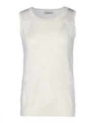 Sleeveless sweater by Nina Ricci at The Corner