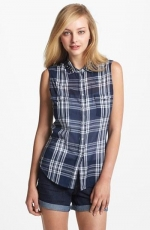 Sleeveless western shirt by Two by Vince Camuto at Nordstrom