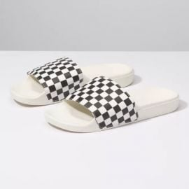 Slide-on Checkerboard Sandals by Vans at Vans