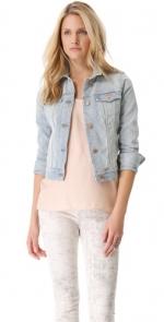 Slim fit denim jacket by J Brand at Shopbop