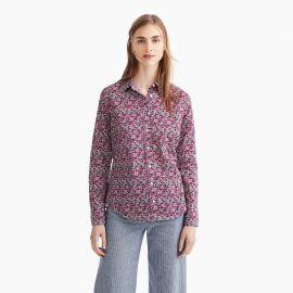 Slim perfect shirt in Liberty® floral at J. Crew