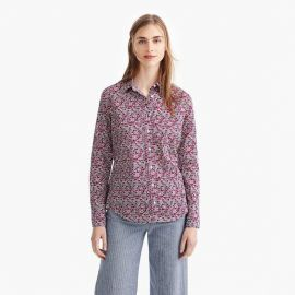 Slim perfect shirt in Liberty Floral by J. Crew at J. Crew