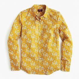 Slim perfect shirt in Liberty by J. Crew at J. Crew