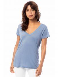 Slinky Jersey V-Neck T-Shirt at Alternative