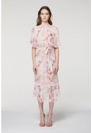 Sloane Pleat Detail Viscose Dress by Once Was at Once Was