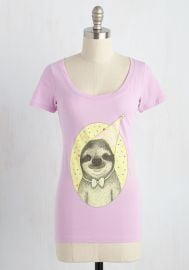 Slow and Steady Wins the Cake Cotton T-Shirt at ModCloth