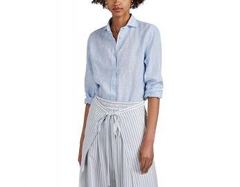 Slub Linen Western Shirt at Saks Fifth Avenue