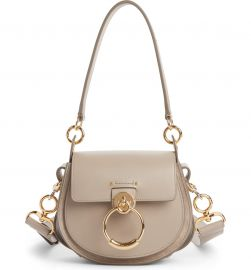 Small Tess Calfskin Leather Shoulder Bag by Chloe at Nordstrom