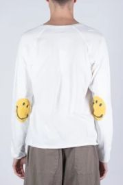 Smiley Patch Long Sleeve Patch T Shirt by Kapital at Grailed