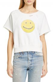 Smiley Raw Sweatshirt at Nordstrom