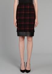 Smokey Plaid Aviana Skirt at Lafayette 148