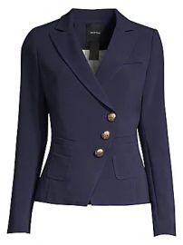 Smythe - Wrapped Crepe Blazer at Saks Fifth Avenue