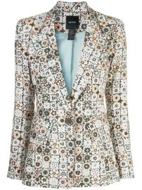 Smythe Graphic Floral Print Blazer - Farfetch at Farfetch