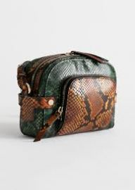 Snake Embossed Small Crossbody Bag at & Other Stories