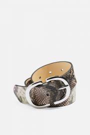 Snake logo belt at Topshop