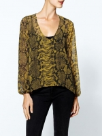Snake print blouse by Eight Sixty at Piperlime at Piperlime