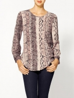 Snake print top by Joie at Piperlime