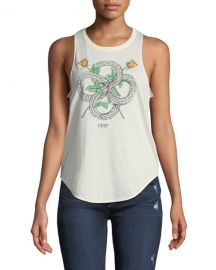 Snakes Roses Lust Graphic Tank by Chaser at Last Call