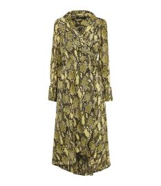 Snakeskin Print Midi Dress at Karen Millen