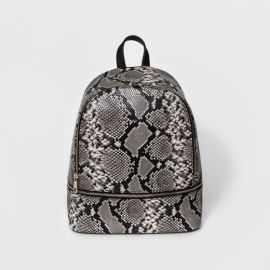 Snakeskin Print Bag by Mossimo at Target