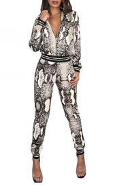 Snakeskin Tracksuit by Thusfar at Amazon