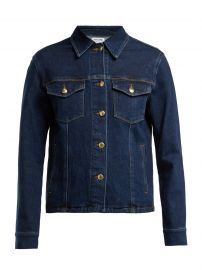 Snap Away Cotton-Blend Denim Jacket by Frame at Matches