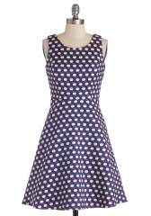 Snapshot with the Seedlings Apple Dress at ModCloth