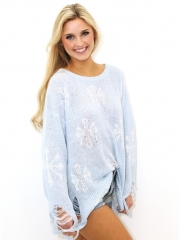 Snowflake Sweater by Wildfox at Boutique To You