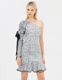 Sofia One Shoulder Dress by Rebecca Vallance at The Iconic