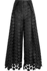 Solace London - Hallie lace wide-leg pants at Net A Porter