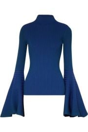 Solace London - Sattal ribbed stretch-knit turtleneck top at Net A Porter