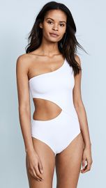 Solid  amp  Striped Claudia One Piece at Shopbop
