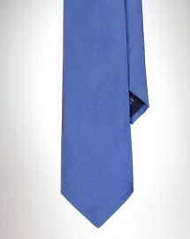 Solid Silk Tie at Ralph Lauren