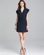 Solid wrap dress by Aqua at Bloomingdales