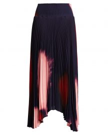 Sonali Pleated Tie-Dye Skirt at Intermix