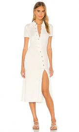 Song of Style Polly Midi Dress in White from Revolve com at Revolve