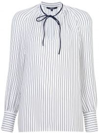 Sonia Stripped Long Sleeve Blouse at Farfetch