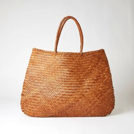 Sophie Basket Bag Tan Extra Large at The Conran Shop