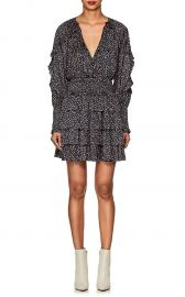 Soraya Floral Tiered Minidress by Ulla Johnson at Barneys