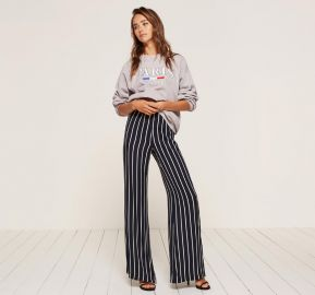 Sorrenti Pant in Capone Stripe at The Reformation