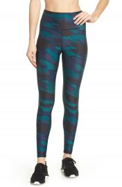 Soul by SoulCycle High Waist Camo Tights   Nordstrom at Nordstrom
