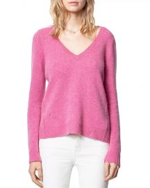 Sourca Cashmere Sweater by Zadig Voltaire at Bloomingdales