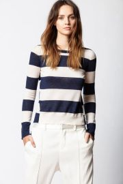 Source Cashmere Stripes Sweater at Orchard Mile