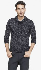 Space dyed hoodie at Express