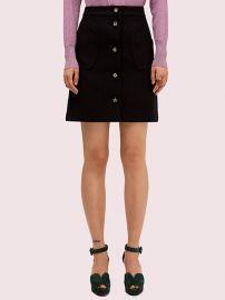 Spade Pocket Skirt at Kate Spade