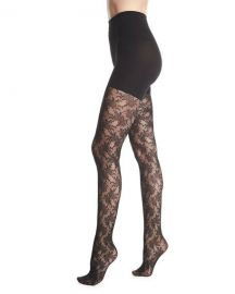 Spanx Lovely Lace Control-Top Tights at Neiman Marcus